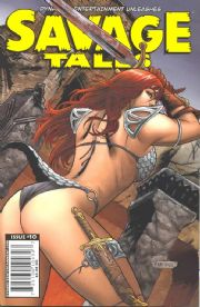 Savage Tales #10 (2008) Dynamite Entertainment comic book